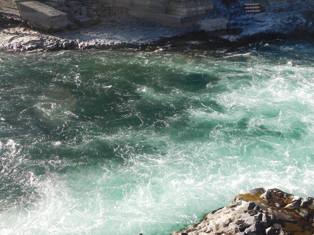 Below Spokane Falls