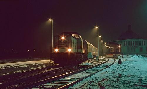 201 577 at Kaltennordheim. 22/01/94.