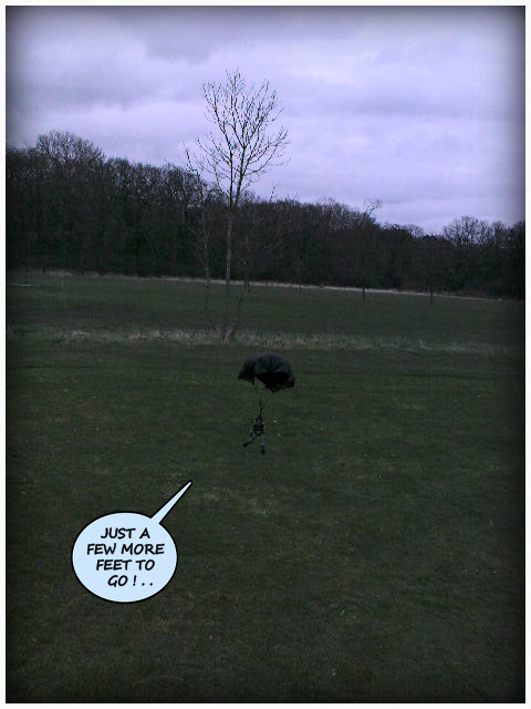High Speed Parachute Test 1 (Top Secret).. 36883376712_04c0be1334_o