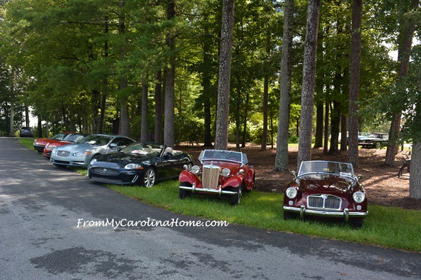 Car Club at the Burntshirt Winery at From My Carolina Home