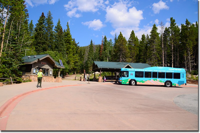 Bear Lake Ranger Station & Shuttle Bus stop 2