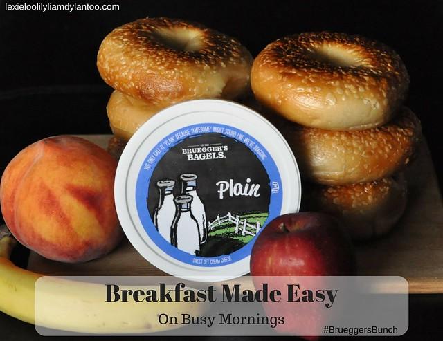 Breakfast Made Easy On Busy Mornings #BrueggersBunch