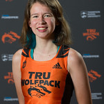 Erica Johnson, WolfPack Cross Country Running