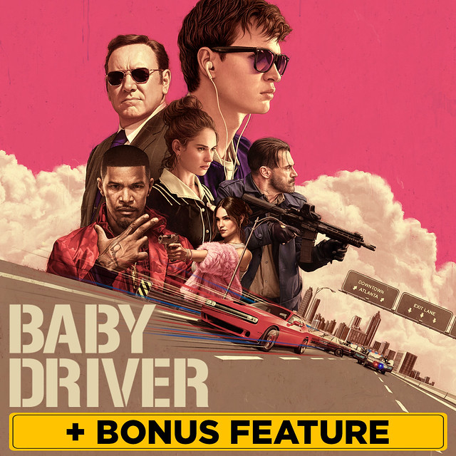 Baby Driver (plus Bonus Features)