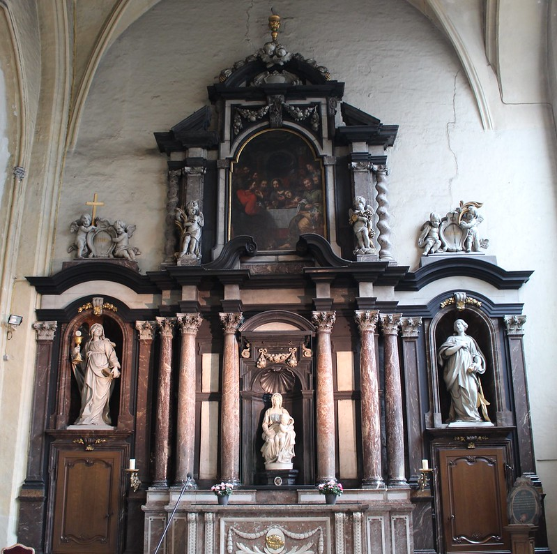 Michaelangelo's Madonna And Child, Brugge, Belgium