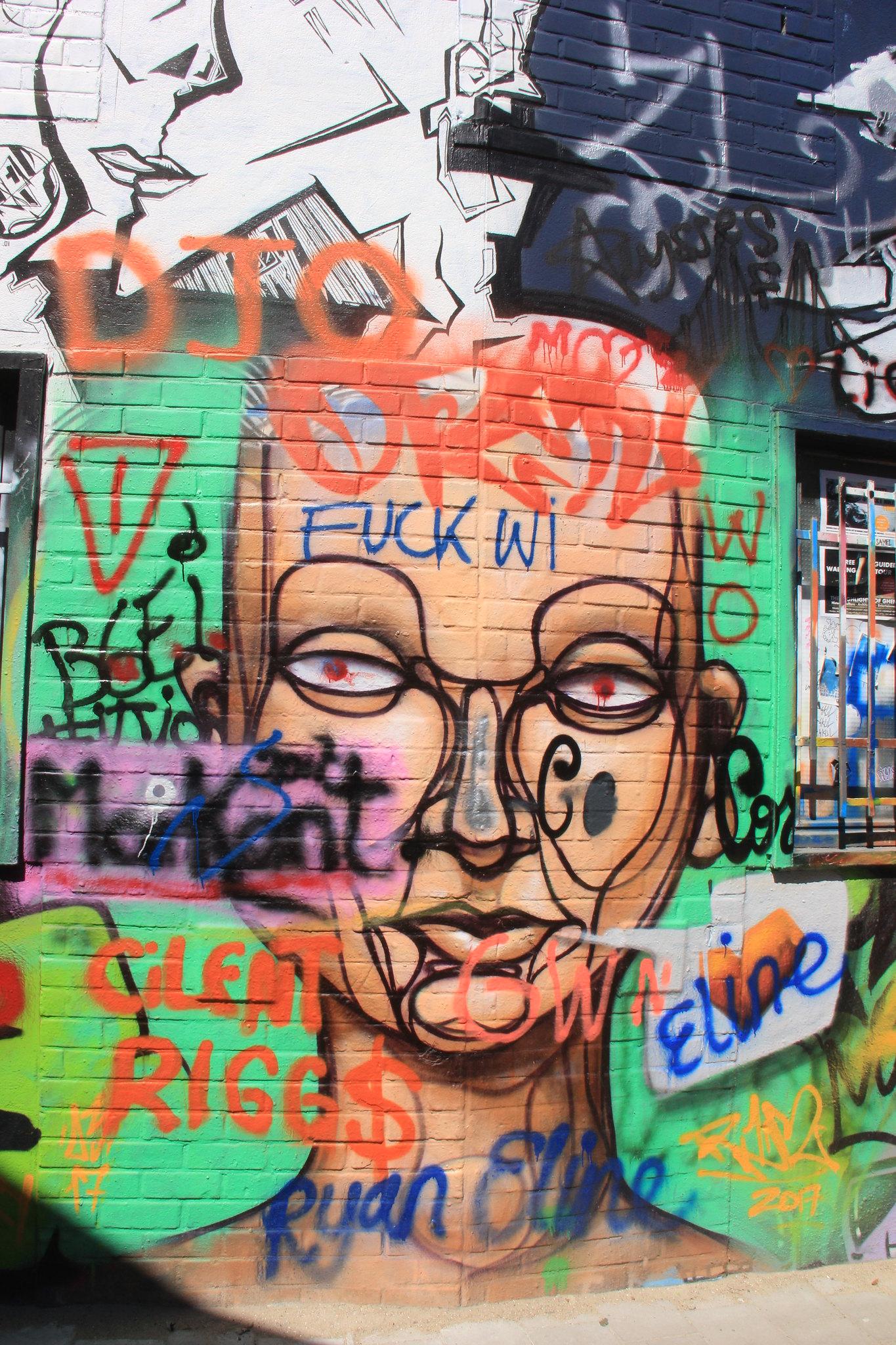 Ghent street art tour