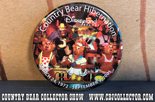 2001 Disneyland Country Bear Jamboree Hibernation Pin - Country Bear Collector Show #120