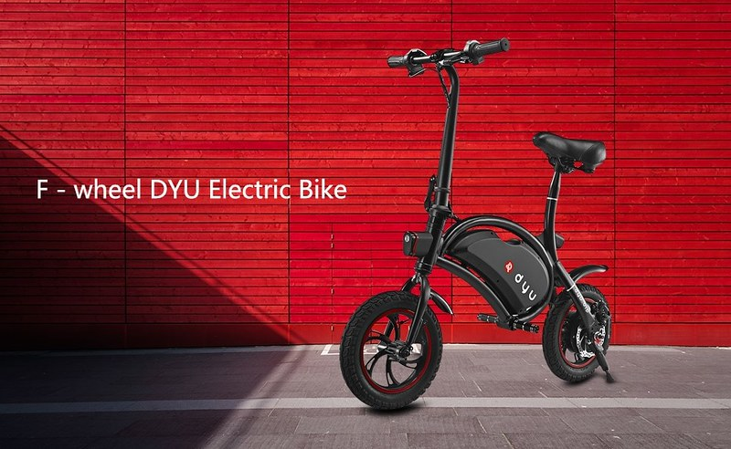F - wheel DYU Electric Bike02
