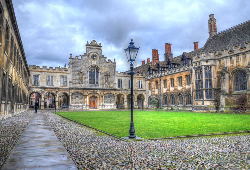 Peterhouse, Cambridge. Credit Baz Richardson, flickr