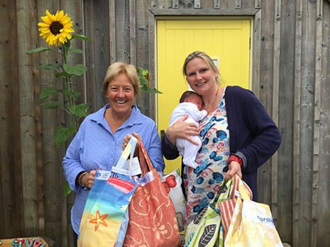 Sewing Bee - Bude Baggers delivery