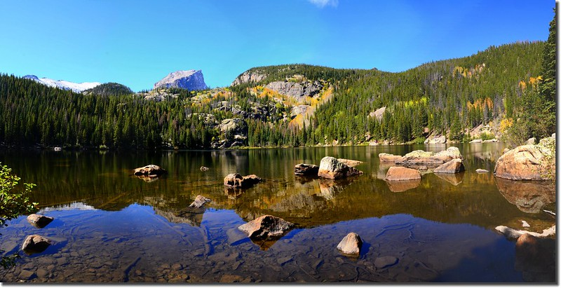 Panorama of Bear Lake, Rocky Mountain National Park, Colorado 2
