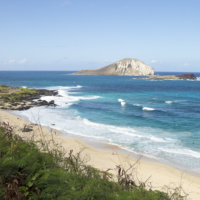 Makapu'u Beach, Sony ILCE-7M2, Sony FE 35mm F1.4 ZA