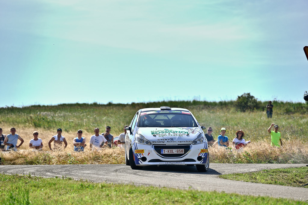 45 BEDORET Sebastien (BEL) WALBRECQ Thomas (BEL) Peugeot 208 R2 action during the 2017 European Rally Championship Rally Rzeszowski in Poland from August 4 to 6 - Photo Wilfried Marcon / DPPI