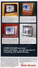 Radio Rentals TV ad - 1968