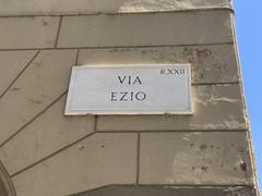 Via Ezio, Rome