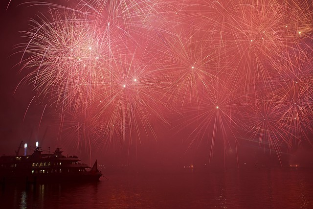 Geneva fireworks spectacle