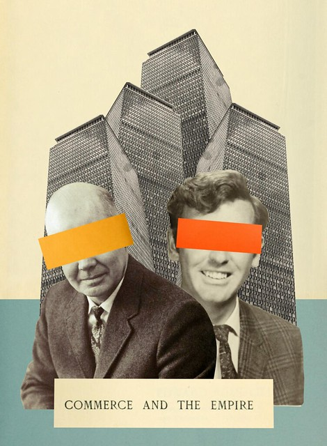 Commerce and the Empire. Collage