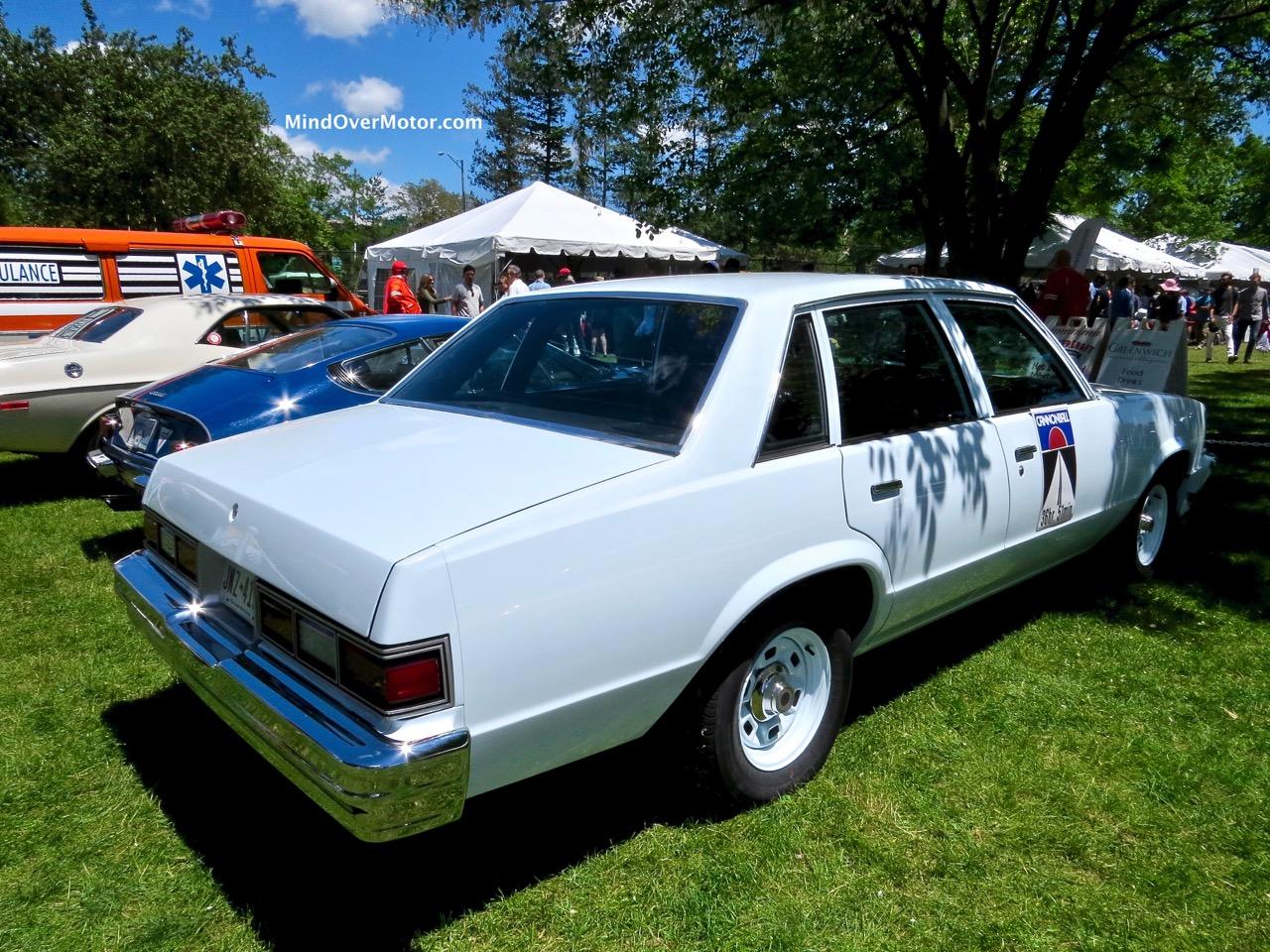 Malibu Police Car Rear