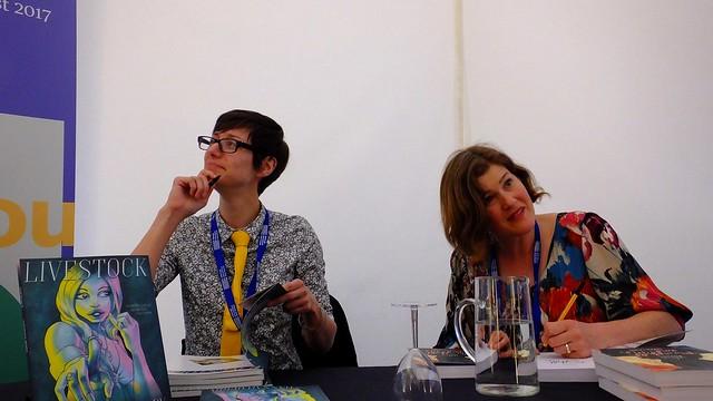 Edinburgh International Book Festival 2017 - Hannah Berry & Sarah Laing 04