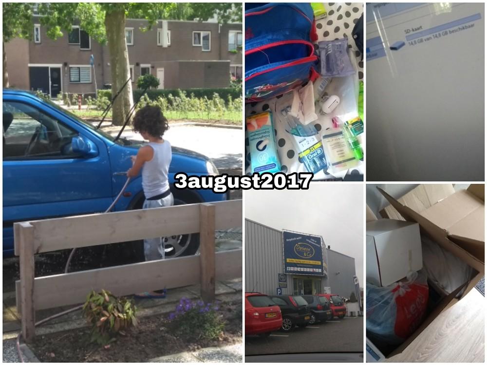 3 august 2017 Snapshot