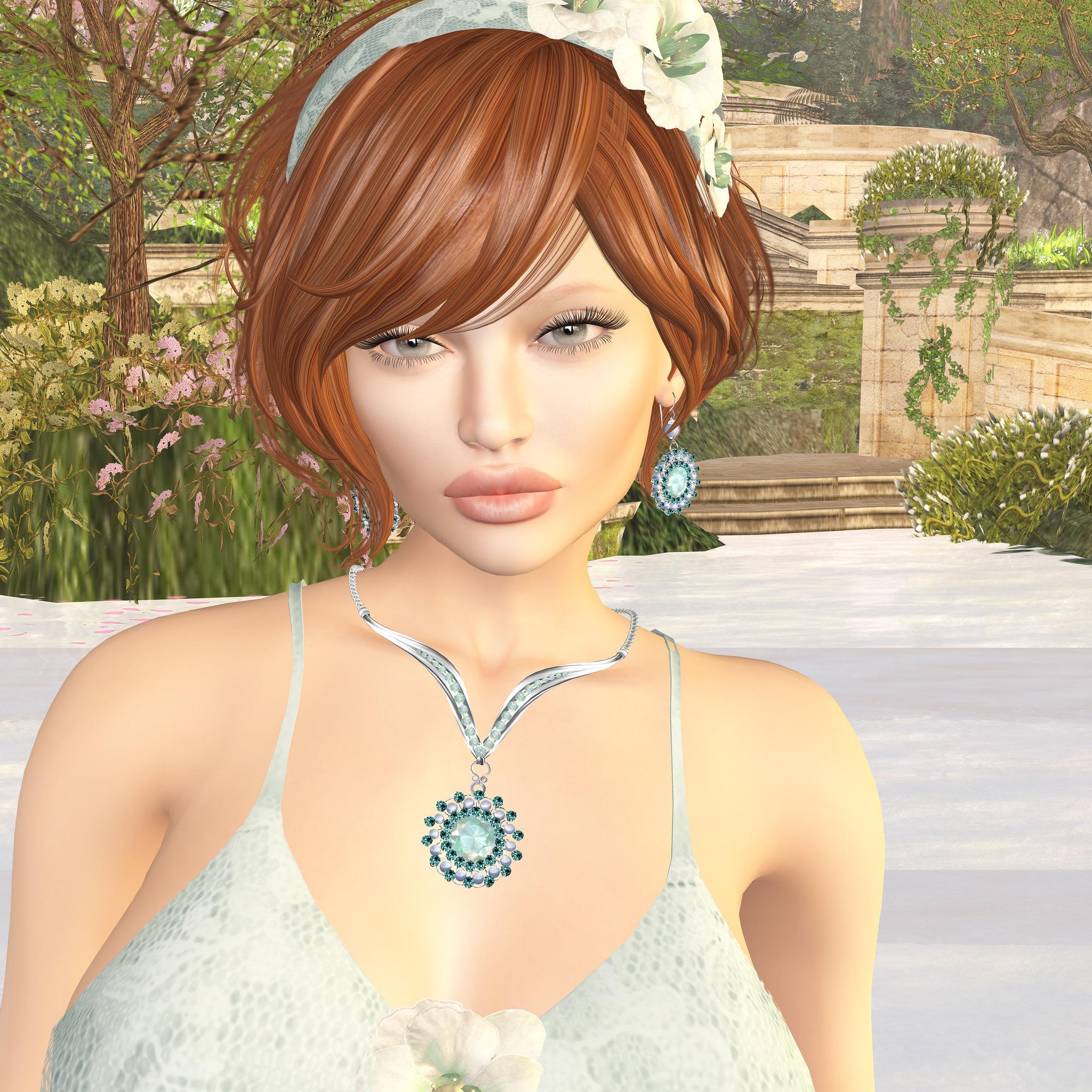 Avi Glam: Silky eyes, Zuri Jewelry,Oceane skin, Argrace hair