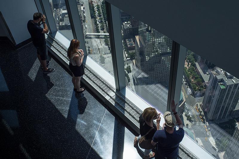 NY a vista de rascacielos