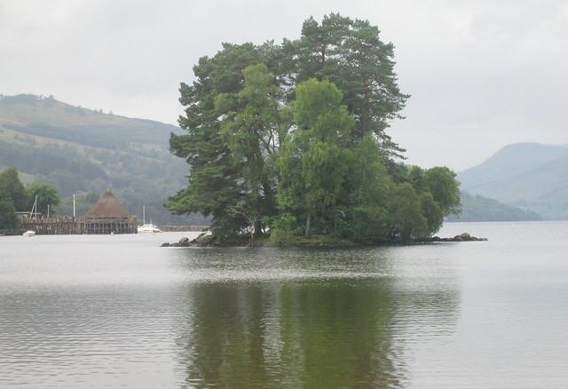 Crannog on Loch Tay Kenmore 2