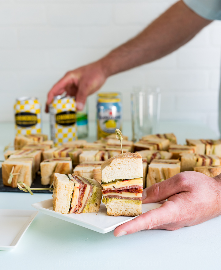 Pressed Italian Sandwiches www.pineappleandcoconut.com #ad #discoverworldmarket
