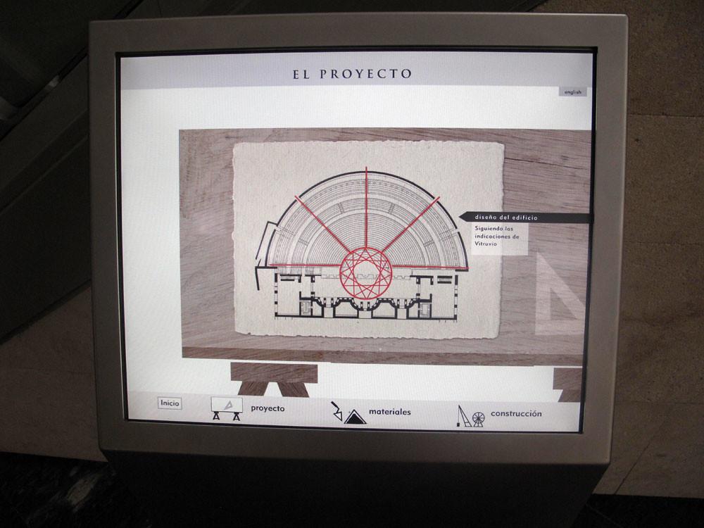museo teatro cartagena_patrimonio_rafael moneo_sala evolución histórica_vitrubio