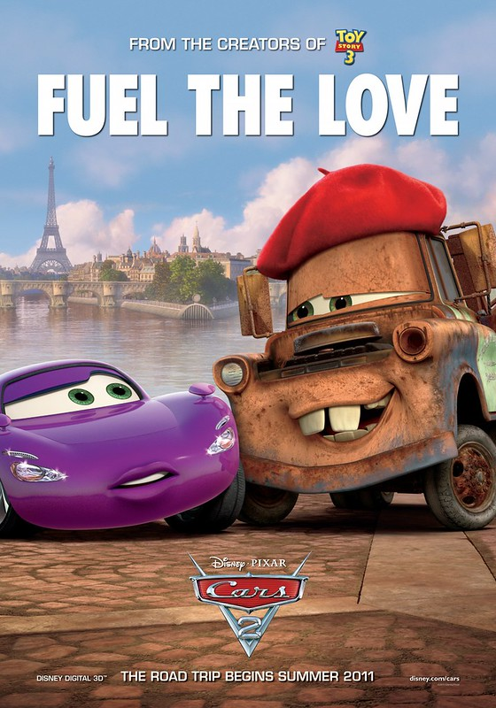 Cars 2 - Poster 9