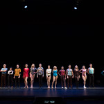A Chorus Line at the Arvada Center, 2017 - L-R: Matthew Dailey (Don), Jordana Grolnick (Maggie), Joe Callahan (Mike, understudy), Rae Leigh Case (Connie), Ron Tal (Greg), Dayna Tietzen (Cassie), Katie Mitchell (Sheila), Parker Redford (Bobby), Jennifer Arfsten (Bebe), Kristen Paulicelli (Judy), Michael Canada (Richie), Zac Norton (Al), Seles VanHuss (Kristine), Lexie Plath (Val), Tyler Jensen (Mark) and Natalie…