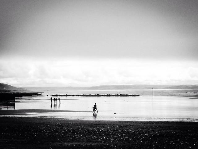 Horizontals #oftheday #tywyn #beach
