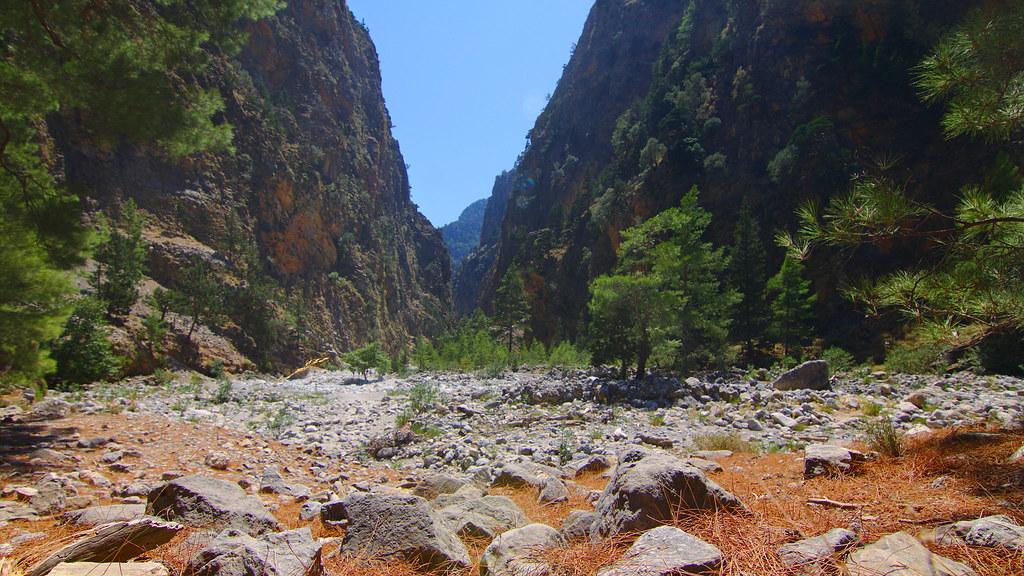 Samaria Gorge, Samaria National Park, Crete, Greece