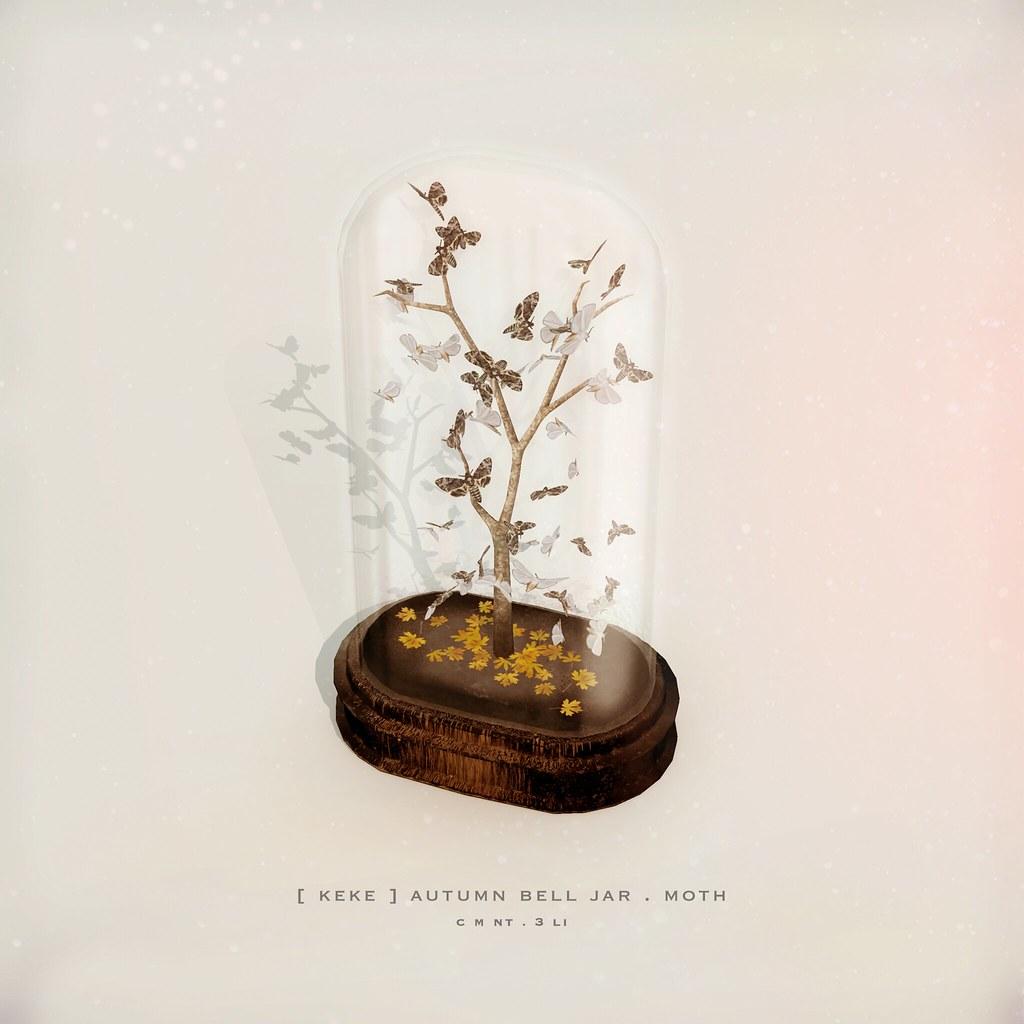 [ keke ] autumn bell jar . moth - TeleportHub.com Live!