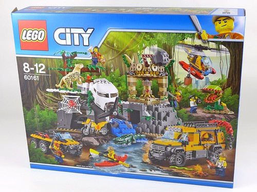 LEGO City Jungle 60161 Jungle Exploration Site 01