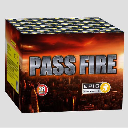 Pass Fire 36 Shot SIB #EpicFireworks