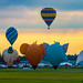 The Great Texas Balloon Race, 2017 by braniffelectra