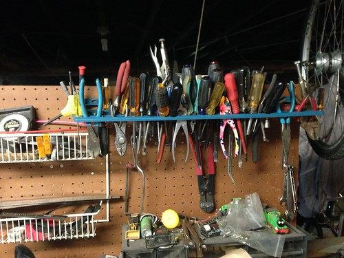 Most of the tools that were hiding on my workbench