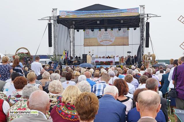 Wojewódzkie dożynki 2017 - Przasnysz