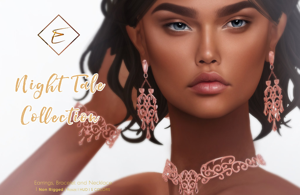 [Enchante'] - Night Tale Collection for @ Enchantment - SecondLifeHub.com