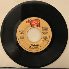 ANDY GIBB:TIME IS TIME(RECORD SIDE-B)