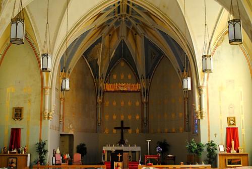 Closed St. Ambrose Church - St. Nazianz, Wisconsin