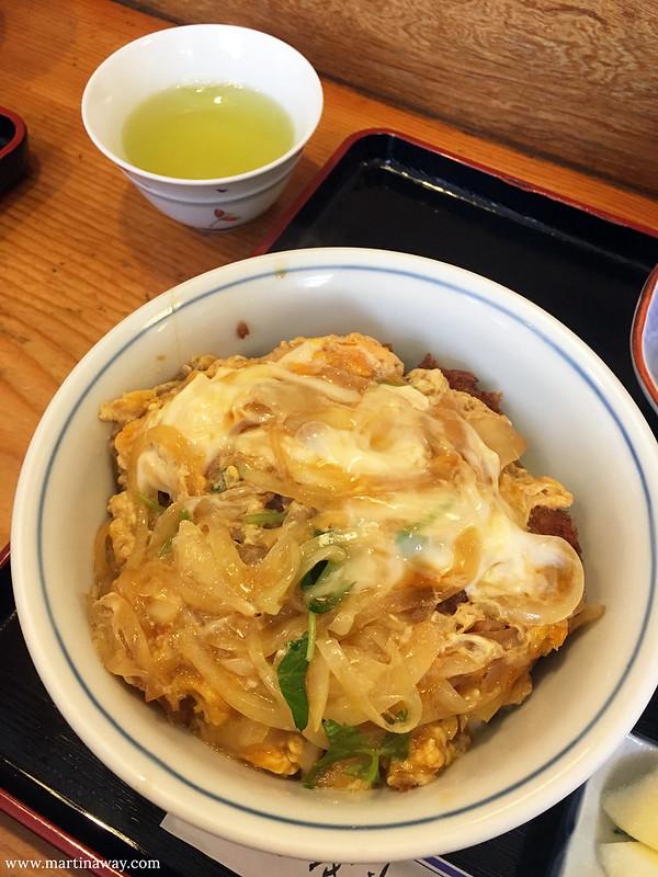 Katsudon a Takayama