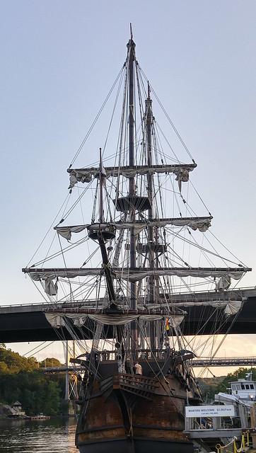 Spanish galleon, 8-8-2017-Kingston, NY