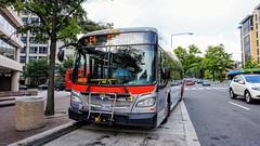 WMATA Metrobus 2012 New Flyer Xcelsior XDE40 #7125