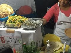 street food - tacos 12 MXN