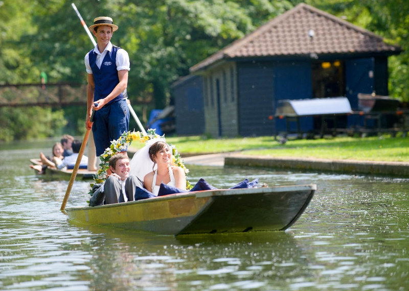 Punting Cambridge. Credit Scudamore's Punting Cambridge