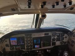 I love this job! Beechcraft King Air C90