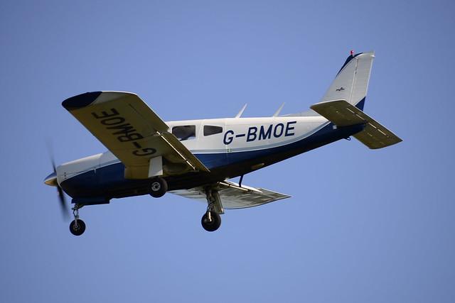 G-BMOE PA-28R-200 2 Cherokee Warrior