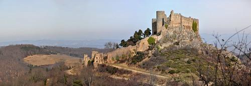 Ruines du château de Couzan